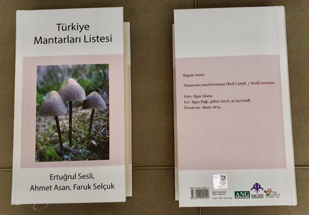 Türkiye Mantarları Listesi (Aralık 2020)